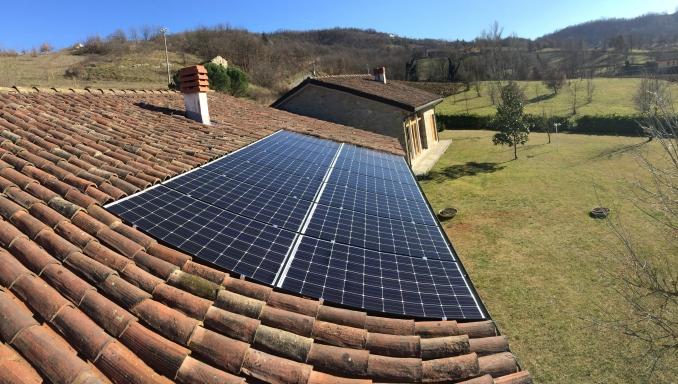 fotovoltaico totalmente integrato - 2016